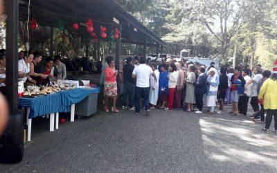 Posada Navideña con pacientes del Hospital Nacional Dr. Federico Mora